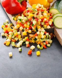 Légumes prêts à cuisiner